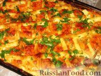 """Фото приготовления рецепта: Рыба, запеченная под """"шубой"""" - шаг №6"""