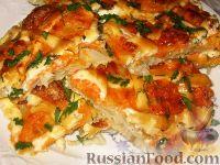 """Фото приготовления рецепта: Рыба, запеченная под """"шубой"""" - шаг №7"""