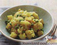 Фото к рецепту: Рагу из картофеля и цветной капусты