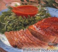 Фото к рецепту: Говядина, приготовленная на гриле