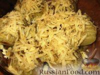 Фото приготовления рецепта: Картофельные веера с сыром - шаг №4