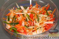 Фото к рецепту: Капустный салат по-фанагорски