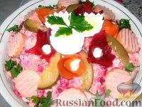 "Фото к рецепту: Салат ""Зимний хоровод"""