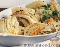 Фото к рецепту: Печеный фенхель