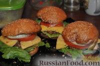 Фото к рецепту: Гамбургеры