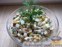 Фото к рецепту: Салат «Простецкий»