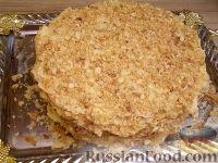 Фото приготовления рецепта: Торт слоеный «Наполеон» - шаг №13