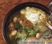 Фото к рецепту: Суп из свинины, приготовленный в медленноварке