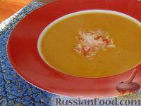 Фото к рецепту: Тыквенный суп-пюре с имбирем