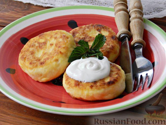 Фото к рецепту: Сырники с тыквой