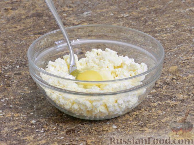 Фото приготовления рецепта: Сырники с тыквой - шаг №3
