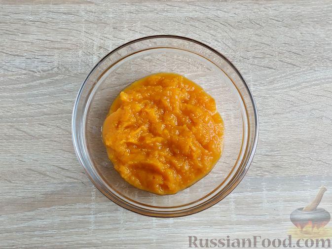 Фото приготовления рецепта: Пончики из тыквы - шаг №5