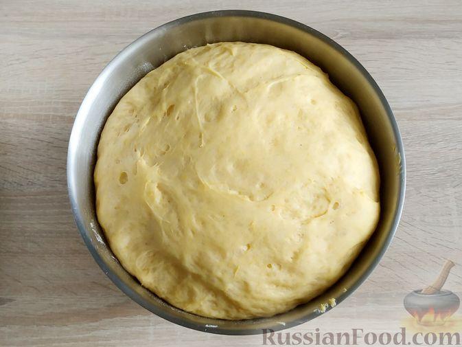 Фото приготовления рецепта: Пончики из тыквы - шаг №12