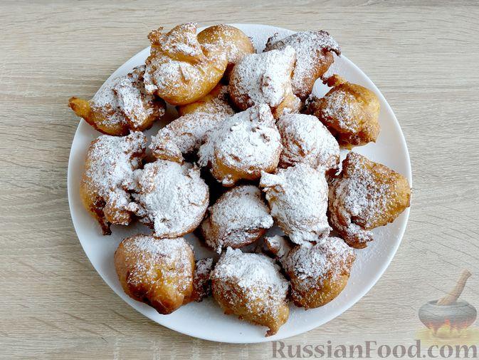 Фото приготовления рецепта: Пончики из тыквы - шаг №16