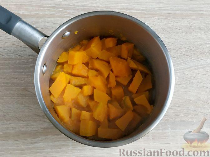 Фото приготовления рецепта: Пончики из тыквы - шаг №4