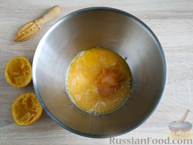 Фото приготовления рецепта: Пончики из тыквы - шаг №9