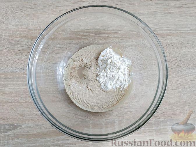 Фото приготовления рецепта: Пончики из тыквы - шаг №6