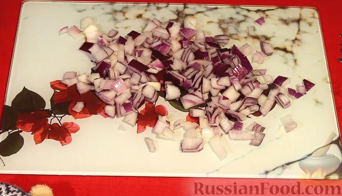 Фото приготовления рецепта: Закуска из лосося и авокадо - шаг №4