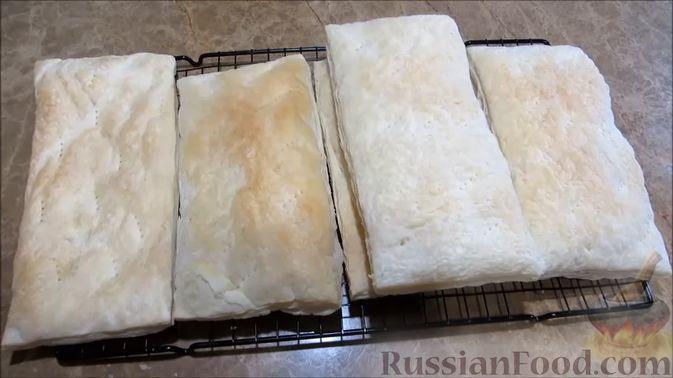 """Фото приготовления рецепта: Мясной закусочный """"Наполеон"""" - шаг №1"""