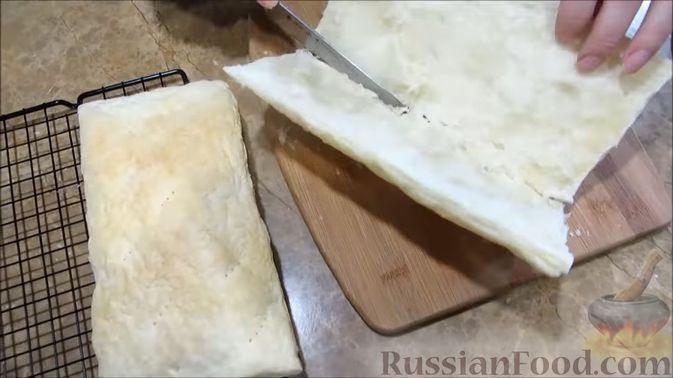 """Фото приготовления рецепта: Мясной закусочный """"Наполеон"""" - шаг №2"""