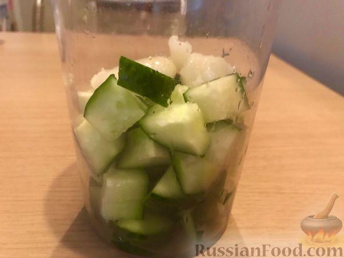 Фото приготовления рецепта: Картошка, запечённая с тыквой, в кефире - шаг №2