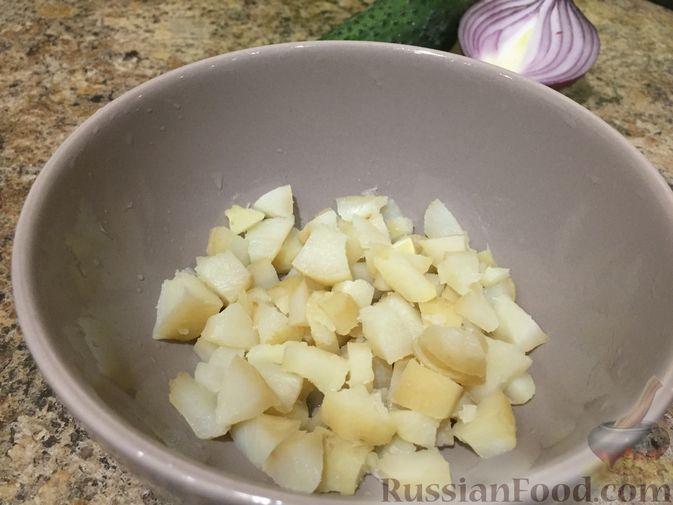 Фото приготовления рецепта: Салат из топинамбура с морковью - шаг №5
