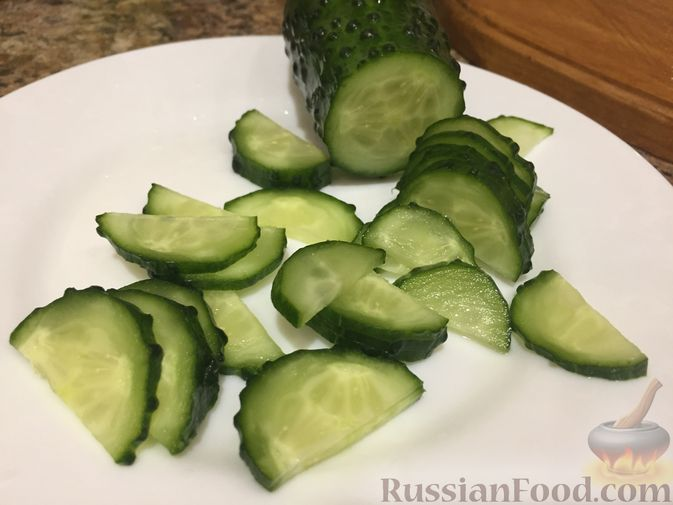 Фото приготовления рецепта: Салат из топинамбура с морковью - шаг №8