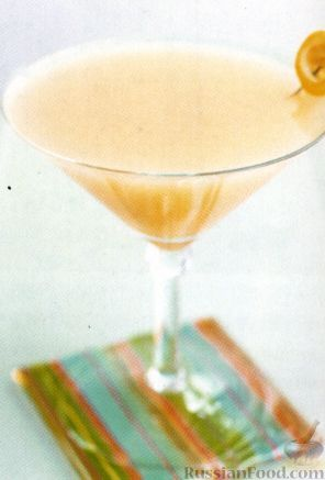 Рецепт Коктейль Ромовый Сайдкар (Rum Sidecar)