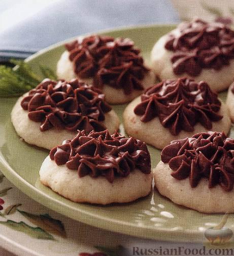 Рецепт Печенье мятно-ванильное