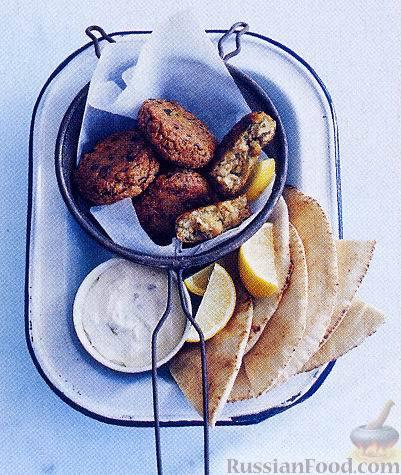 Рецепт Котлетки из нута (турецкого гороха)