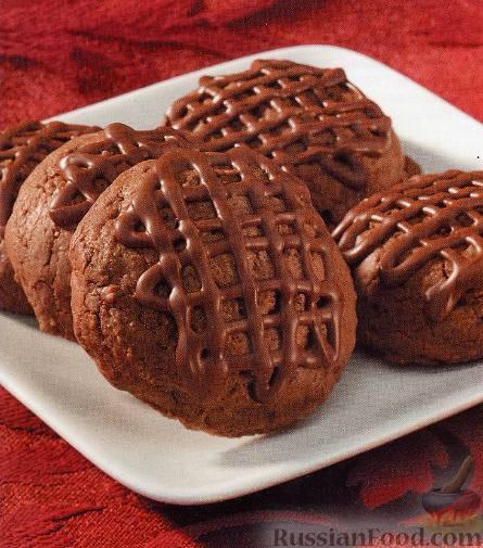 Рецепт Печенье шоколадно-кофейное «Трюфельное Мокко»