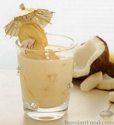 Рецепт Коктейль Банановая Батида (Batida Banana)
