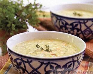 Рецепт Суп из брокколи с сыром