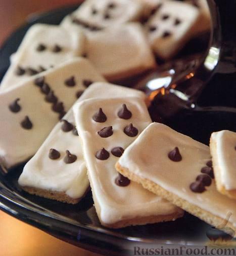 Рецепт Сахарное печенье «Домино»