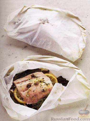 Рецепт Рыба в пергаменте