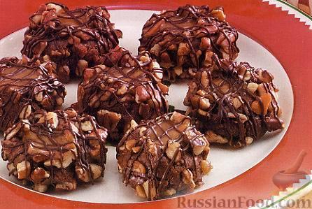 Рецепт Шоколадно-карамельное печенье