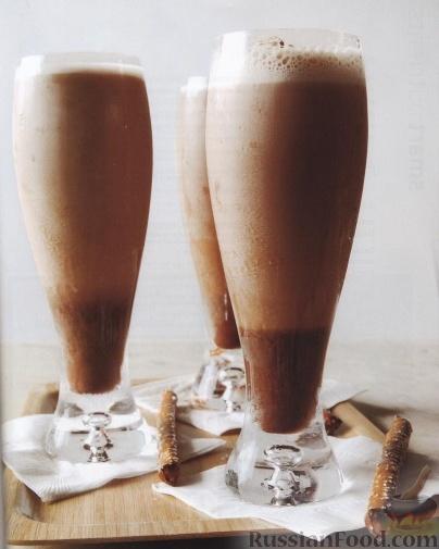 Рецепт Молочно-шоколадный коктейль