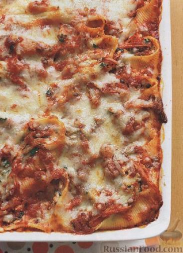 Рецепт Ракушки с сыром