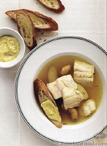 Рецепт Буйабес (Bouillabaisse) - марсельский рыбный суп