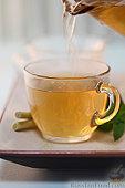 Рецепт Имбирный чай - простуда долой