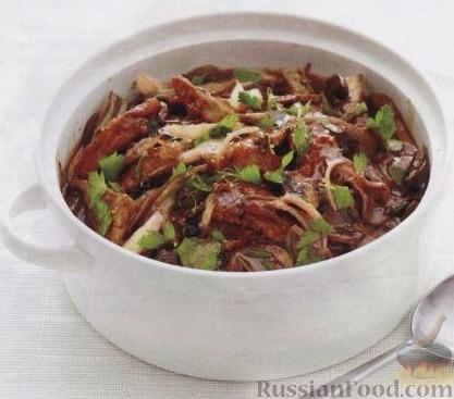 Рецепт Рагу из свинины с фенхелем