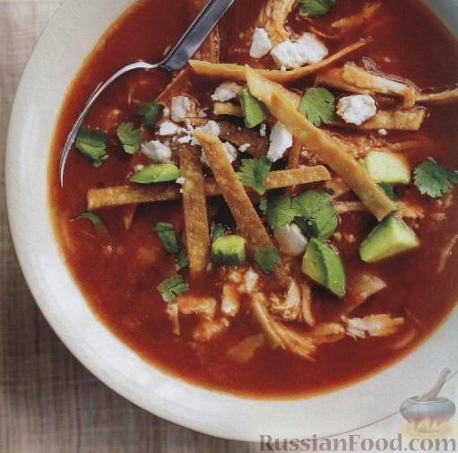 Рецепт Мексиканский куриный суп