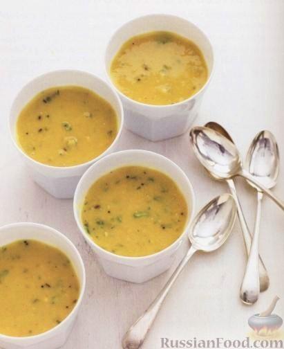 Рецепт Гороховый суп с индийскими пряностями