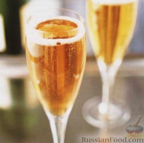 Рецепт Коктейль Южное Шампанское