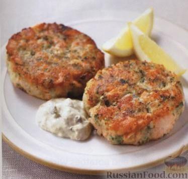 Рецепт Котлетки из картофеля и лосося