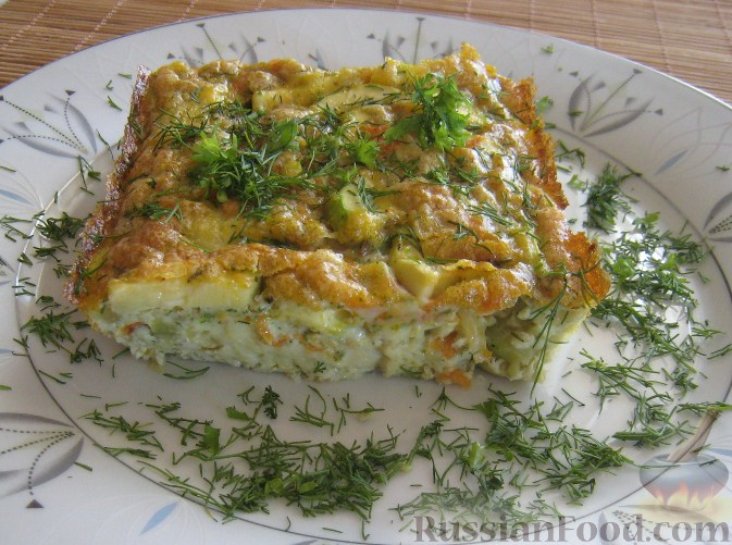 рецепт блюда с кабачком с фото