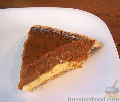 Рецепт Двухслойный тыквенный пирог