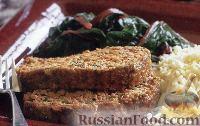 Фото к рецепту: Мясной рулет с зеленым луком и петрушкой