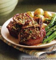 Фото к рецепту: Мясо барашка с лимоном, тимьяном и горчицей