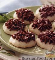 Фото к рецепту: Печенье мятно-ванильное